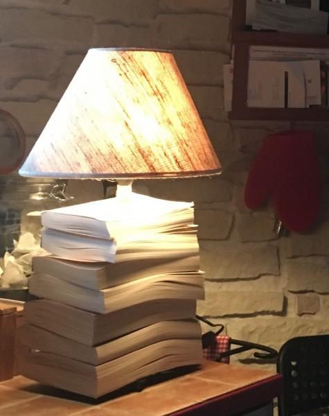 Marie deco lampe livres Riom 63